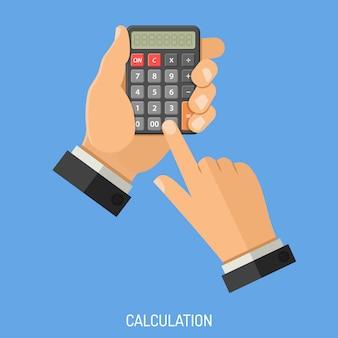 Berekening en tellen concept