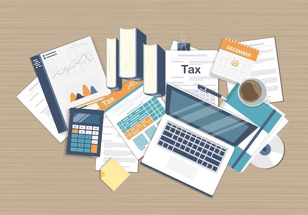 Berekening van belastingaangifte door de overheid