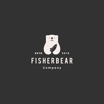 Beren vis zalm logo