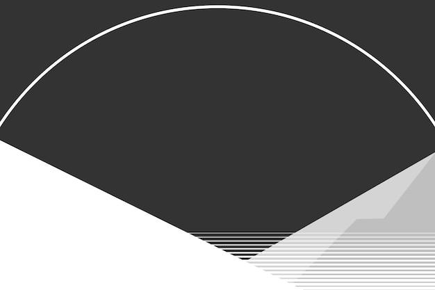 Berg achtergrond vector in het donker Gratis Vector
