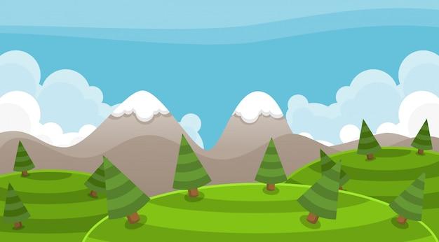 Berg achtergrond