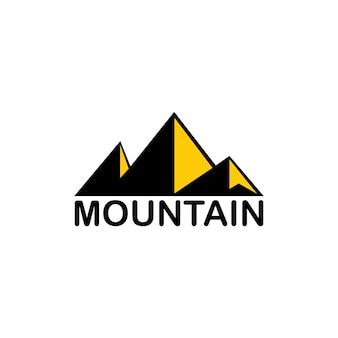 Berg vector. bruikbaar als logo en pictogram