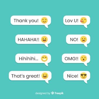 Berichten met emoji-reacties