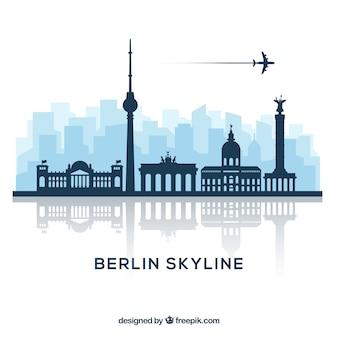 Berlijn skyline ontwerp