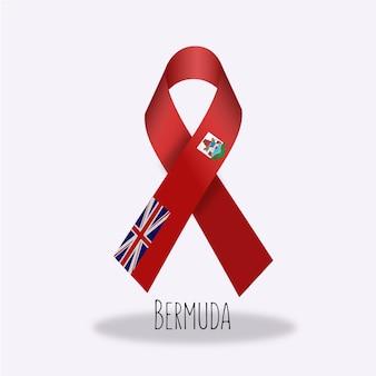 Bermuda vlag lint ontwerp