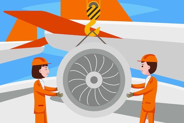 Beroep luchtvaartingenieur