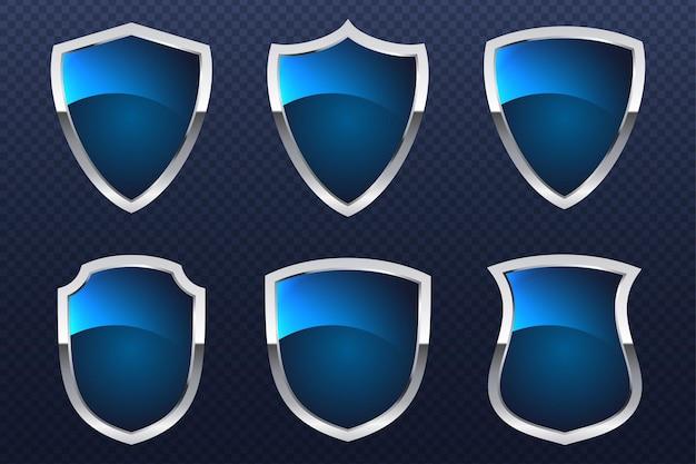 Bescherm het concept van de duidelijke lijn van het beschermingsschild