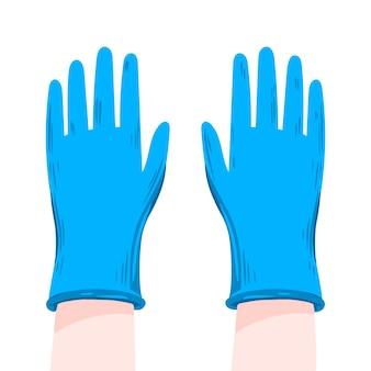 Beschermende handschoenen ter preventie