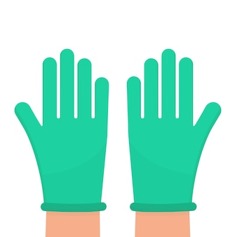 Beschermende operatiehandschoenen