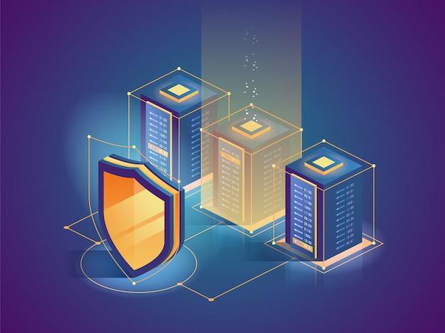 Bescherming netwerkbeveiliging en veilig uw gegevens