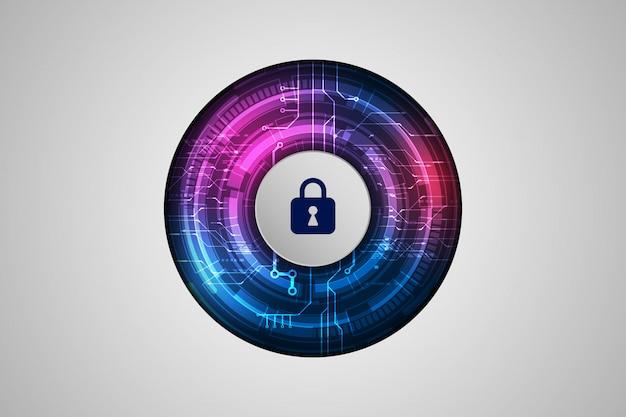 Beschermingsconcept bescherm mechanisme, systeemprivacy