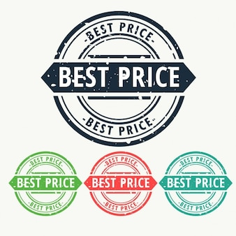 Best price rubber stamp sign set