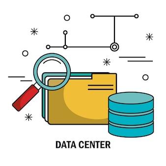 Bestand archief zoekgegevens server geïsoleerd