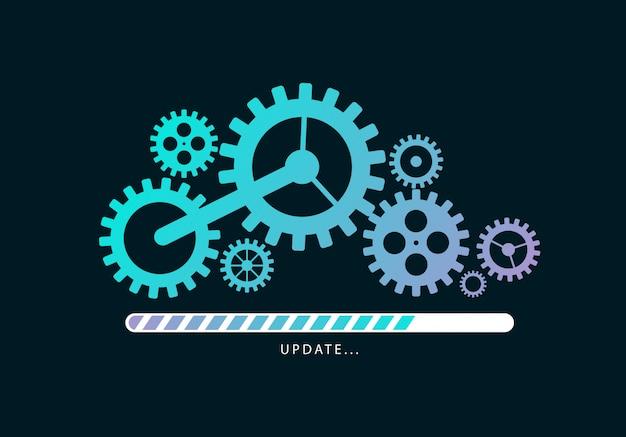 Bestanden laden of updaten