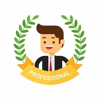 Beste award krans voor zakenman