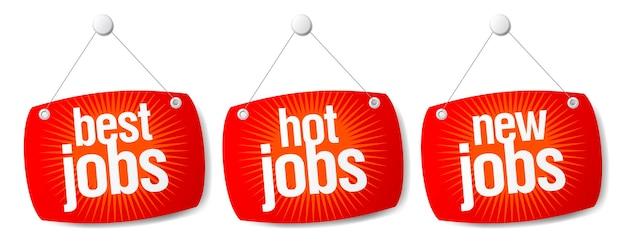 Beste baan, hete baan en nieuwe baan
