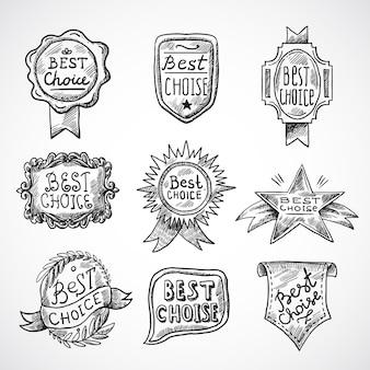 Beste keuze-badge
