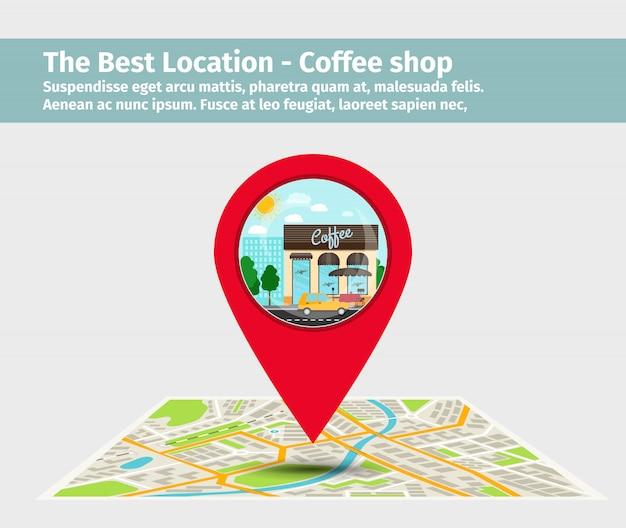 Beste locatie coffeeshop