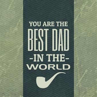 Beste papa van de wereld achtergrond