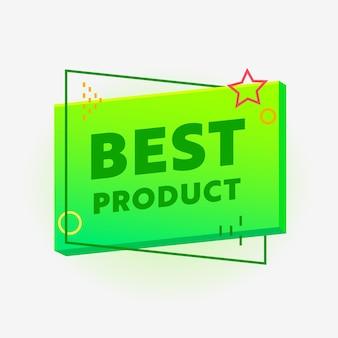 Beste productbanner