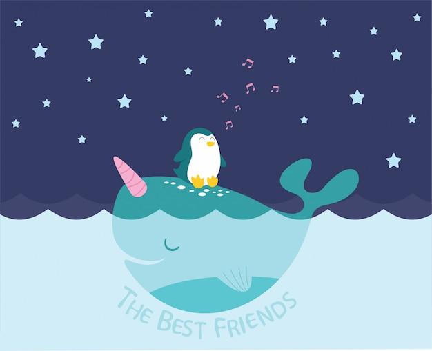 Beste vrienden zee
