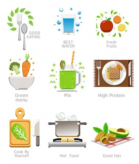 Besteed aandacht aan gezondheid door goed voedsel te kiezen met het lichaam