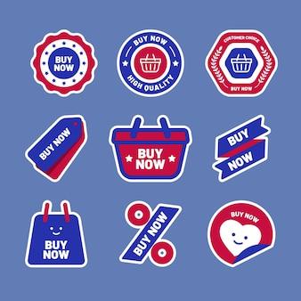 Bestel nu stickers collectie
