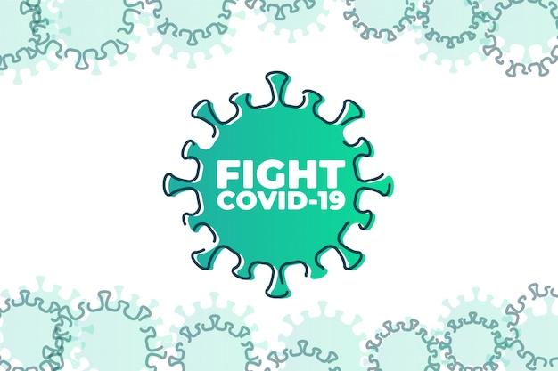 Bestrijd covid-19 corona-virus