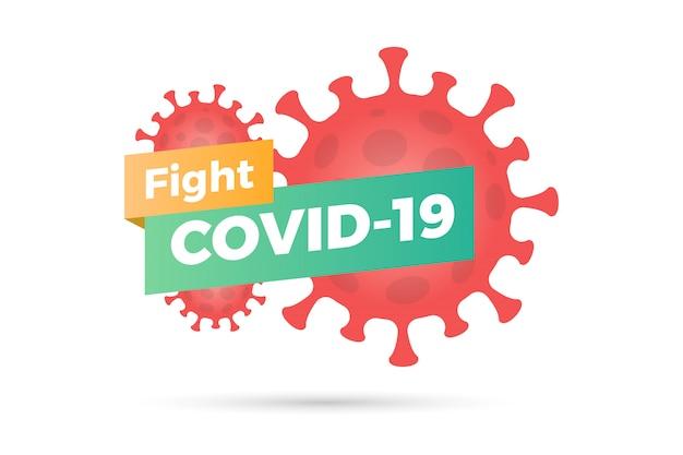 Bestrijd de pandemie van het coronavirus