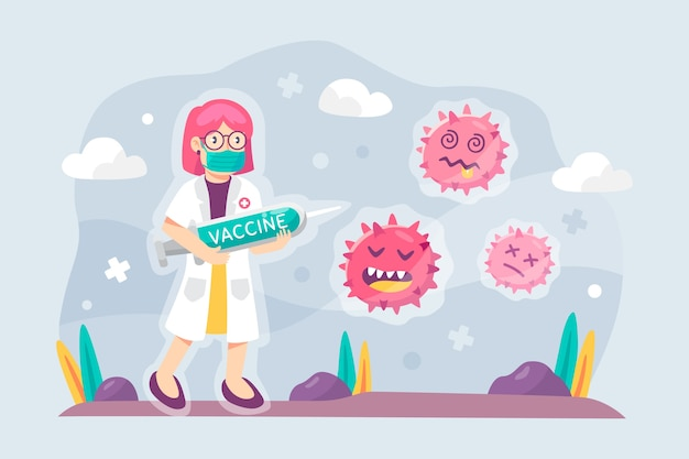 Bestrijd het virusontwerp