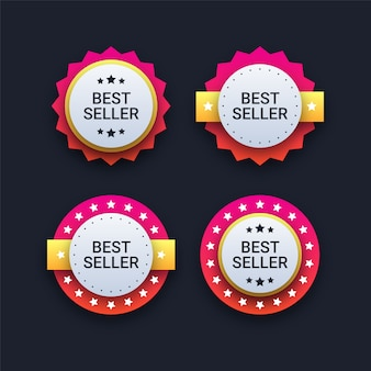 Bestseller badges
