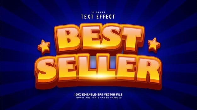 Bestseller teksteffect