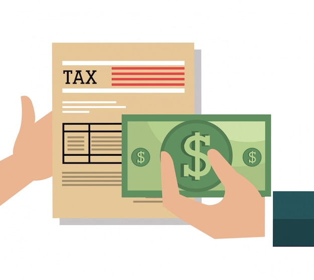 Betaal belastingen grafisch
