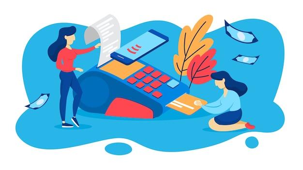 Betaalautomaat voor betaling met creditcard