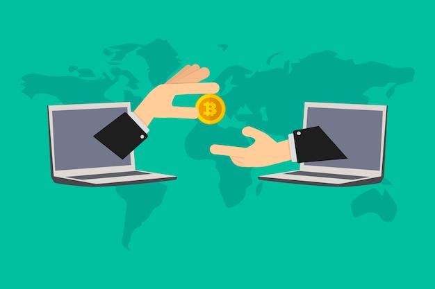 Betaling op afstand voor online uitgevoerde werkzaamheden