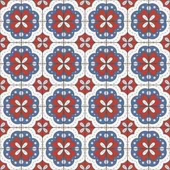 Betegelt patroon ontwerp