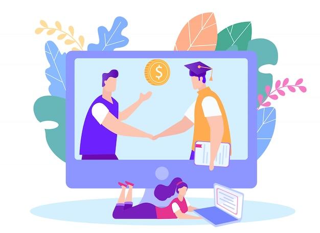 Betreed het e-learningcontract