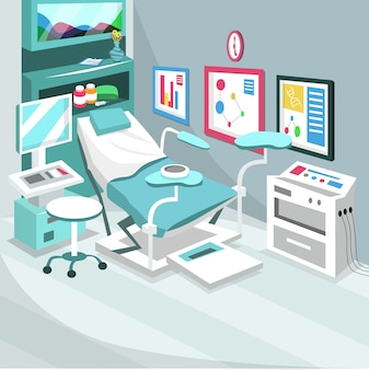 Bevalling keizersnede ziekenhuiskamer