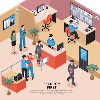 Beveiliging op kantoor