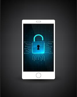 Beveiliging van mobiele telefoons