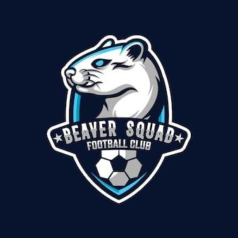 Bever logo ontwerp