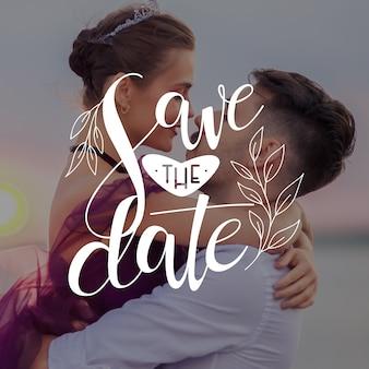 Bewaar de datum waarop de jonggehuwden hun verhalen gaan vertellen