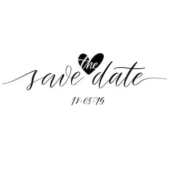 Bewaar de datum