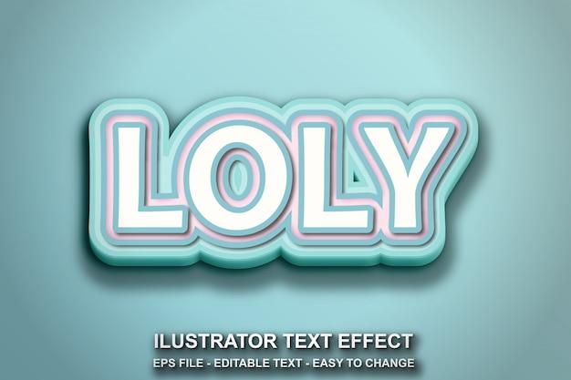 Bewerkbaar teksteffect coole stijl