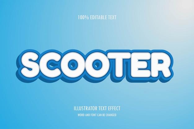 Bewerkbaar teksteffect, gemakkelijk bewerkbaar lettertype, stijl en effect