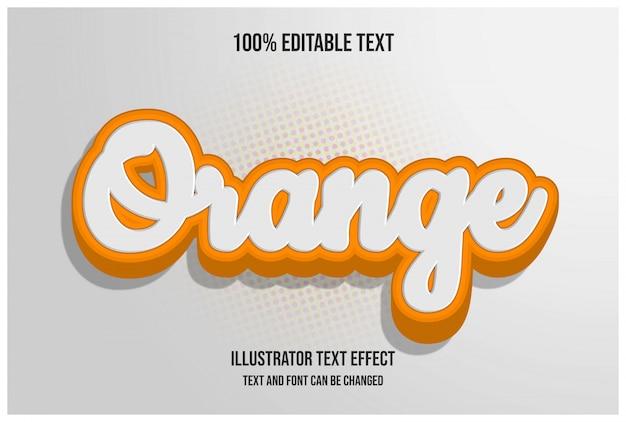 Bewerkbaar teksteffect, gemakkelijk bewerkbaar lettertype