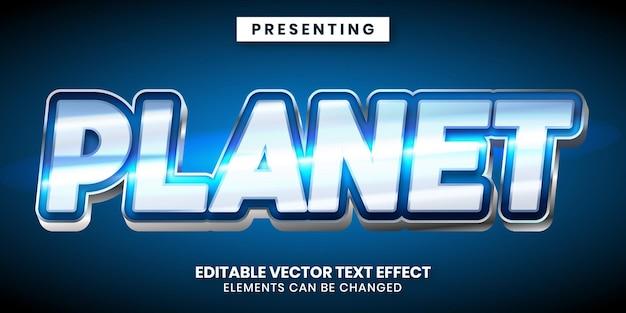 Bewerkbaar teksteffect - glanzende moderne spelstijl