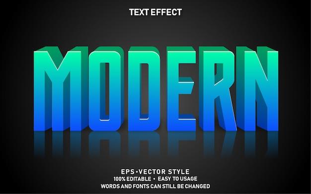 Bewerkbaar teksteffect gradient modern premium