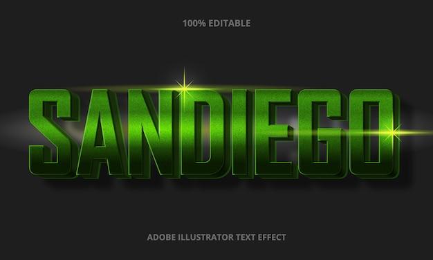Bewerkbaar teksteffect - realistische tekststijl