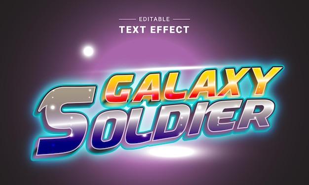 Bewerkbaar teksteffect voor illustrator